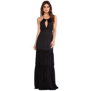 Diane Von Furstenberg Aden Pleated Maxi Dress Sz 2